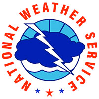 national Weather Service color logo