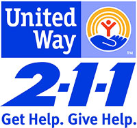 United Way 211 color logo